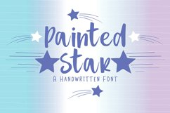 Painted Star Product Image 1