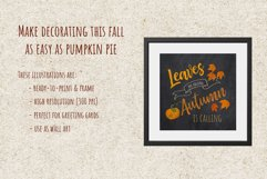 Autumn Printables & Illustrations Product Image 4