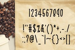 Coffee Beans an Express-o Font Product Image 3