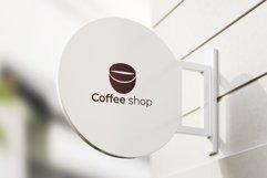 Coffee shop Minimal Logo Product Image 4