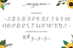 Megan Nice - Modern Script and Monogram Product Image 5