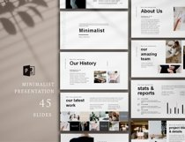 Minimal Presentation, PowerPoint Product Image 5