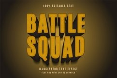 Battle squad - Text Effect Product Image 1