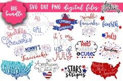 Huge 4th of July Bundle - SVG DXF PNG Clipart Product Image 1