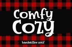 Comfy Cozy Serif Handwritten Font Product Image 1