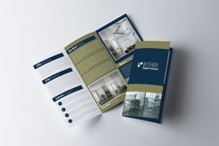 Real Estate Business Trifold Brochure Product Image 1