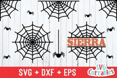 Spider Web SVG | Halloween SVG Product Image 1