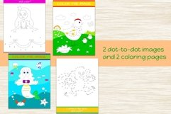 Busy Book for Girls - A4 size, printable JPG / EPS / AI Product Image 3
