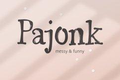 Pajonk font Product Image 1