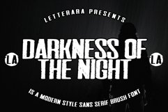 Darkness Of The Night Product Image 1