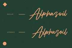 Alphasoil Signature Font Product Image 5