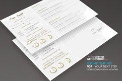 Resume Template Horizontally Product Image 2