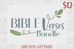 Bible Verses SVG Bundle Product Image 1