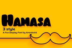 Hamasa Fun Display Font Product Image 1