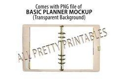 Baby Pink Planner Mockup, Journal Mockup, MockUp, Mock Up Product Image 2