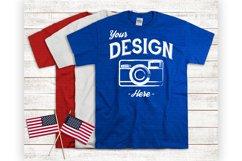 Fourth Of July Tshirt Mockup USA Shirt Display Product Image 1