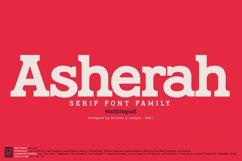 Asherah - Serif font family Product Image 1