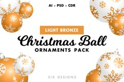 48 Christmas Ball Ornaments Pack 6 Colors Product Image 3