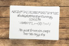 Squiggle Font Product Image 2
