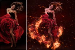 Fire Photoshop Action Product Image 2