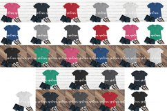 Huge 27 shirt Mockup bundle set Product Image 2