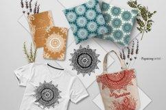 Floral Mandala Hand Drawn Set Product Image 9