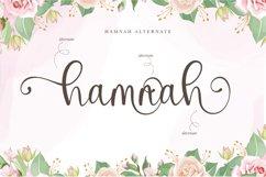 Hello Hamna - Modern Calligraphy Font Product Image 4