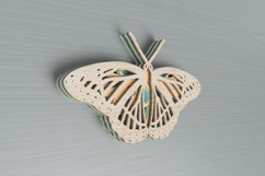 Insect laser cut file - Butterfly Mandala Product Image 5