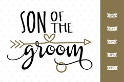 Son of the Groom SVG file Product Image 1