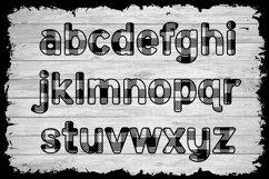Basic Buffalo Plaid Patterned Font Product Image 4