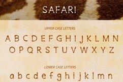Safari Playful Display Font Typeface Product Image 2