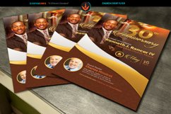 Pastor's Anniversary Church Flyer Photoshop, Word, Publisher Product Image 2
