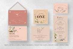 Nude & Terracotta Foliage Wedding Suite Product Image 6