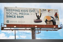 Corrugated Billboard Mockup Template Product Image 3