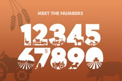 On the Farm Font Product Image 3