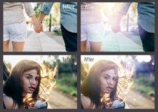 60 Light Bokeh Overlays Product Image 2