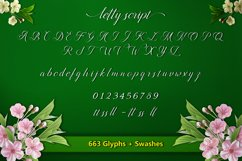 Letty Script Product Image 2