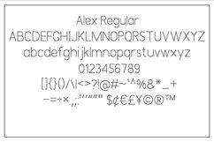 Alex Font Trio Product Image 7