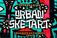 Urban Sketart - Creative Graffiti Lettering Font Product Image 1