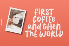 Coffee First   Handwritten Font Product Image 4