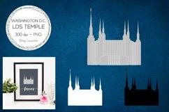 Washington D.C. LDS Temple Clipart Product Image 1