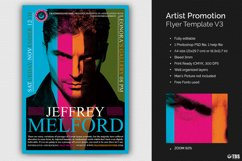 Artist Promotion Flyer Template V3 Product Image 1