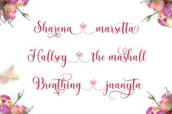 pretty heart - lovely script font Product Image 5