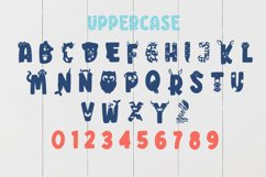 Big Little Creatures - Animal font with EXTRAS Product Image 3