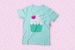 I Heart Cupcakes Dingbat Font Product Image 2