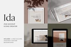 Ida - iPad Mockup Scene Creator Product Image 1