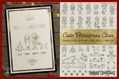 Foil Quill Edition - Cute Christmas Clan - family figures Product Image 1
