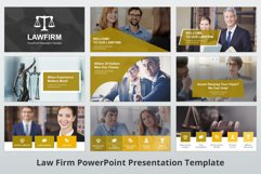 Law Firm PowerPoint Presentation Template Product Image 4