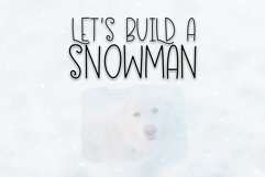Eskimo Igloo - A Fun & Quirky Font Product Image 4