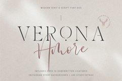 Verona Amore - Modern Serif & Script Font Duo & Extras Product Image 1